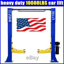 10,000lbs Capacity Car Lift L1100 2 Post Lift Car Auto Truck Hoist Overhead