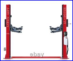 10,000lbs Two Post Lift SINGLE POINT LOCK RELEASE2 Post Car Lift Auto Lift