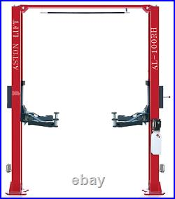 10,000lbs Two Post Lift SINGLE POINT LOCK RELEASE2 Post Car Truck Auto Lift