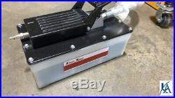 10 TON Portable Puller Auto Body Frame Machine FREE CHAINS, ANCHOR POTS, FOOT PUMP