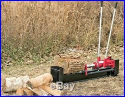 10 Ton Hydraulic Log Splitter Powerful Heavy Duty Wood Cutter Firewood Kindling