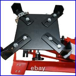 1100lb Low Profile Transmission Hydraulic Jack Auto Repair Heavy-duty castors