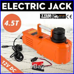 12V Hydraulic Floor Jack Electric Car Lift 9900lbs Heavy Duty Equipment Truck