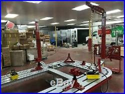 18 Feet Auto Body Frame Machine Free Shipping + Clamps & Tools + 2d Measuring