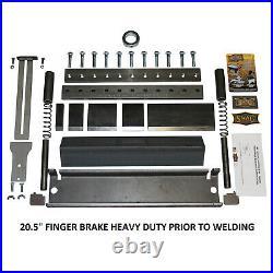 (20.5) Wide SWAG Finger Brake Heavy Duty DIY Builder Kit