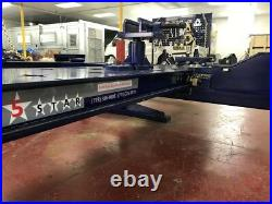20 Feet Long 2 Towers Heavy Duty Auto Body Frame Machine Free Tool Cart Set