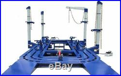 22 Feet 4 Towers Auto Body Shop Frame Machine With Free Clamps, Tools Tools Cart