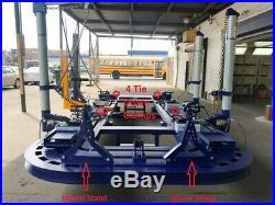 24 Feet 4 Towers Auto Body Frame Machine 360 Degrees 40 Ton Heavy Duty Jack 2d