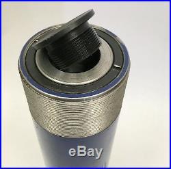 25 Ton 14 Inch Stroke Hydraulic Ram Cylinder Heavy Duty And Rebuildable