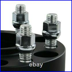 2 Wheel Spacers For 2015-2021 Ford F-150 Front + Rear Hub Centric Spacers Kit