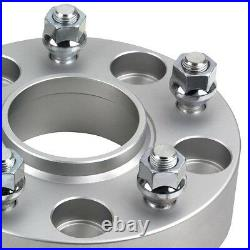 2 Wheel Spacers for 2002-2011 Dodge Ram 1500 SRT-10 Hubcentric (4pc) Heavy Duty