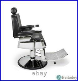 2 x Lincoln Barber Chair Heavy Duty All Purpose Hydraulic Reclining Barber Chair