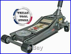 3 Ton Steel Floor Jack Ultra LOW PROFILE Heavy Duty Rapid Pump Show Car Lowrider