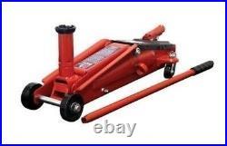 3 Ton Trolley Jack SUV Hydraulic Floor Lift Car Truck Heavy Duty Steel 21 inch H