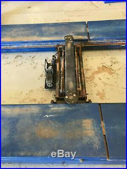 4 Post 14K Alignment Lift w Rolling Bridge Jacks & Rotary Alignment Turn Plates