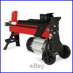 5 Ton Heavy Duty Horizontal Electric Log Splitter Hydraulic Wood Cutter EU