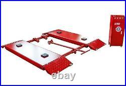 8000lbs Automotive Mid Rise Scissor Lift Auto Car Scissor Lift Movable