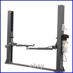 9000LB 2 Post Lift Auto Truck Hoist Single Side Lock Release Heavy Duty Black