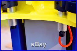 APlusLift HW-10KBP Two Post Floor Plate Auto Hoist Car Lift 10000 LB Capacity