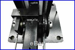 APlusLift HW-8SXLT 4-Post Portable Storage Auto Hoist Car Lift 8,000 LB Capacity