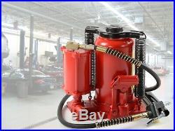 Air Hydraulic Bottle Jack 20 Ton Manual 40,000lb HEAVY DUTY Auto Truck RV Repair