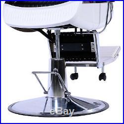 All Purpose Barber Chair Recline Hydraulic Heavy Duty Salon Spa Beauty Equipment