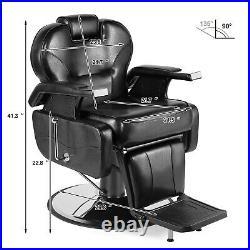 All Purpose Hydraulic Recline Barber Chair Heavy Duty Salon Beauty Spa Equipment