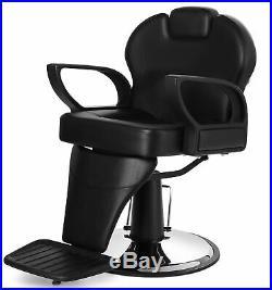 All Purpose Hydraulic Recline Barber Chair Salon Beauty Spa Heavy Duty Equipment