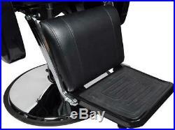 All Purpose Recline Hydraulic Barber Chair Heavy Duty Salon Spa Beauty Black