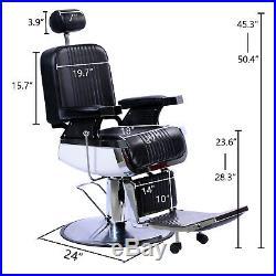 All Purpose Recline Hydraulic Barber Chair Heavy Duty Salon Spa Beauty Equipment