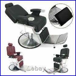 All Purpose Recline Hydraulic Barber Chair Salon Spa Beauty Equipment Heavy Duty