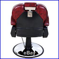 All Purpose Salon Barber Chair Premium Heavy Duty Hydraulic Recliner Spa Styling