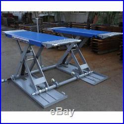 Altra-thin mid rise scissor car lift 3000kg load Standard 1m height