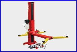 Amgo Hydraulics Sl-6 Single Post Car Truck Auto Lift 6000 Lb. Capacity