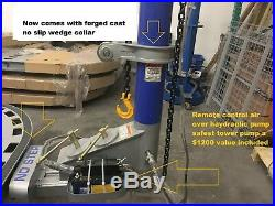 Auto Body Frame Rack 19 Foot 2 Towers 360 Degree Heavy Duty Hi Quality Warranty