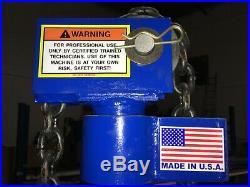 Auto Body Hydraulic Pulling Post Made In USA Heavy Duty Hi Qualityfull Warranty