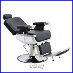 BarberPub Barber Chair Heavy Duty Hydraulic Recliner Salon Beauty Equipment 8740