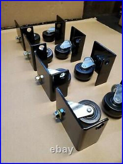 Bracket Wheel Kit for QuickJack hydraulic portable lifts