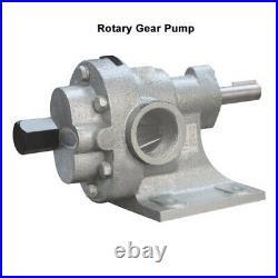 Capacity 30 LPM High Temperature Rotary Gear Pump HGN 075 HEAVY DUTY