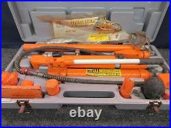 Central Hydraulic 10-Ton Body Lifting Frame Repair Kit Portable Ram 32746 Used
