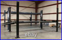 Direct-Lift Four Post Hydraulic Car Lift 8,000 lbs Capacity PP8B