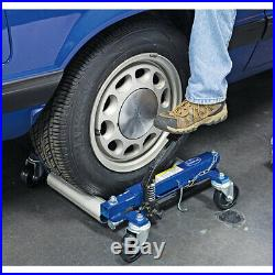 Eastwood 2 Pieces Car Auto Moving Portable Hydraulic Heavy Duty Wheel Dolly Set