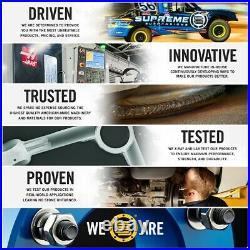 Fits 04-14 Ford F150 Hub Centric Set 4pc 2 Billet Wheel Spacers 4X2 4X4 M14x2