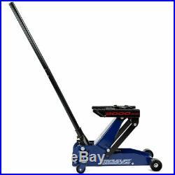 Garage Jack Heavy Duty Hydraulic Floor Kit Car Auto Motorcycle Triple Lift 4000