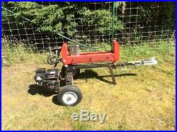 Gasoline Engine Hydraulically Operated Heavy Duty Double Acting Log Splitter