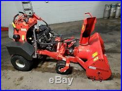 Gravely Stand On Snowblower Hydraulic Driven Kohler 27 Hp 152 Hours