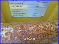 HEAVY DUTY Cat 305 42 EXCAVATOR tilting grading hydraulic BUCKET 45mm pins