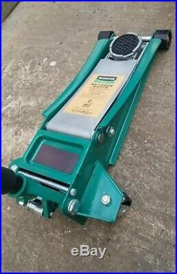 HUAQI Heavy Duty 3TON Low Profile Trolley Jack Car Van Lifting Garage Tool