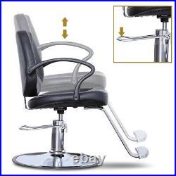 Hair Salon Chair Styling Heavy Duty Hydraulic Pump Barber Chair Beauty Shampoo