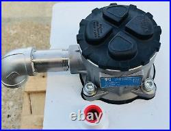 Heavy Duty 25-Gallon Hydraulic Oil Tank Reservoir With Filter & Temperature Gauge
